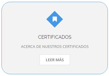 Concontrol - Certificados